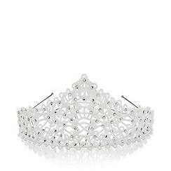 Monsoon - White Princess sarah diamante tiara