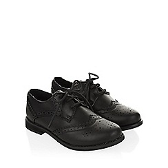 Monsoon - Black Boy brogue shoes