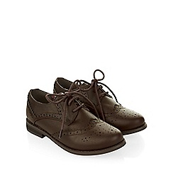 Monsoon - Brown Boy brogue shoes