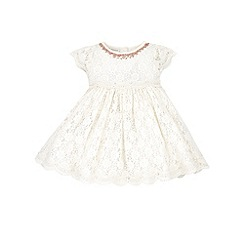 Monsoon - White Baby lovinia lace dress
