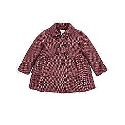 Monsoon - Purple Baby penny purple tweed coat