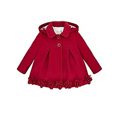 Monsoon - Red Baby rosalie roses coat