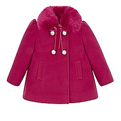 Monsoon - Pink Baby clarissa coat