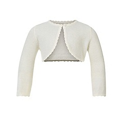Monsoon - Baby girls' white niamh cardigan