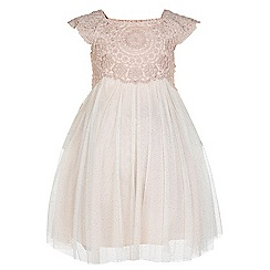 Monsoon - Pink Baby estella dress