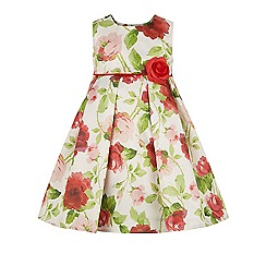 Monsoon - Multicoloured  Baby duchess roses dress