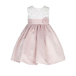 Monsoon - Pink Baby enola flowers dress