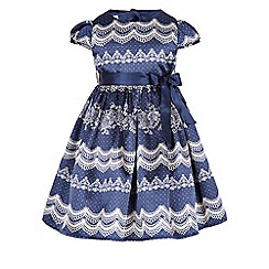 Monsoon - Blue Baby lulu lace dress