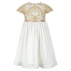 Monsoon - White Baby vienna dress