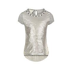 Monsoon - Silver Sylvie sparkle top