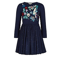 Monsoon - Blue Arabesque dress