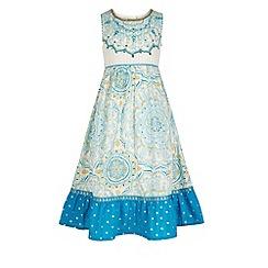 Monsoon - Blue Anika maxi dress