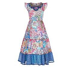 Monsoon - Pink Jaipur cape dress