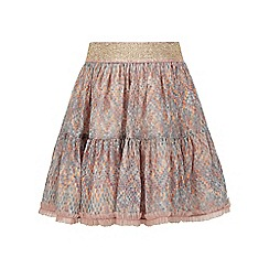 Monsoon - Grey Amybelle chiffon skirt