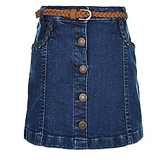Monsoon - Blue Delilah denim skirt