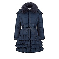 Monsoon - Blue Milly padded coat