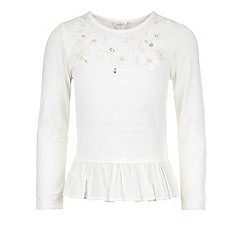 Monsoon - White Iona flower top