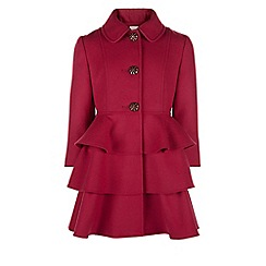 Monsoon - Red 'Florence' coat