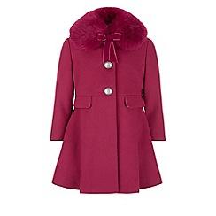 Monsoon - Pink 'Maggie' coat