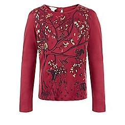 Monsoon - Red Willow woodland tee