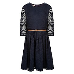 Monsoon - Blue Addison lace dress