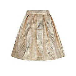 Monsoon - Gold Jacksonville skirt