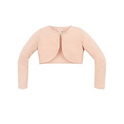 Monsoon - Girls' pink Niamh cardigan