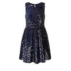 Monsoon - Blue Pondicherry dress