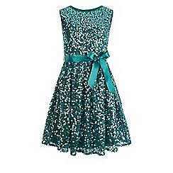 Monsoon - Blue Ottalia sequin dress