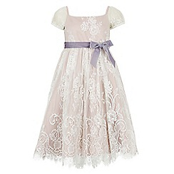 Monsoon - Pink Damsel lace dress