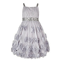 Monsoon - Silver Rosia sparkle cascade dress