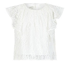Monsoon - White Hester lace top
