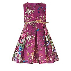 Monsoon - Purple Laticia flower dress