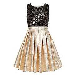 Monsoon - Gold Madison dress