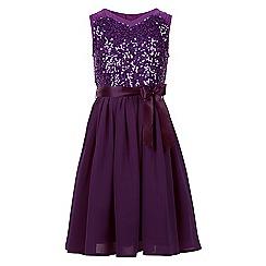 Monsoon - Purple Edria dress