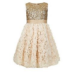 Monsoon - Gold Skyla dress