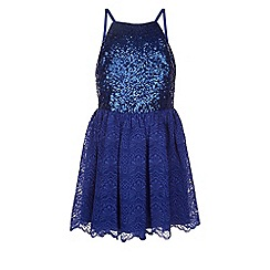 Monsoon - Blue Copenhagen dress