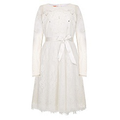 Monsoon - White Arizona lace dress