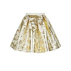 Monsoon - Gold Valentina skirt