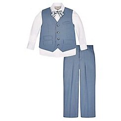 Monsoon - Blue Fisher 4 piece suit set