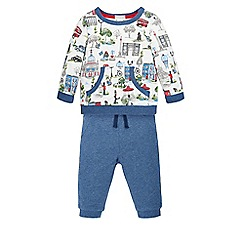 Monsoon - Multicoloured  Newborn london jogger set
