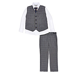 Monsoon - Grey Philip 4 piece suit set