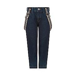 Monsoon - Blue Jackson jeans with braces