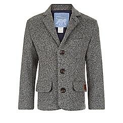 Monsoon - Grey Noah knitted blazer