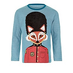 Monsoon - Green Riley fox long sleeve t-shirt