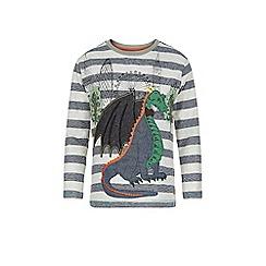 Monsoon - Multicoloured  Dougie dragon long sleeve t-shirt