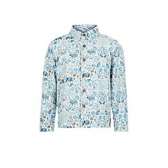 Monsoon - Blue Albert long sleeve shirt