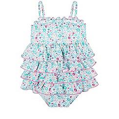 Monsoon - Pink Baby primrose swimsuit