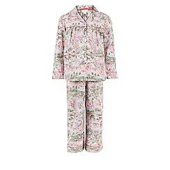 Monsoon - Pink Secret garden flannel pj