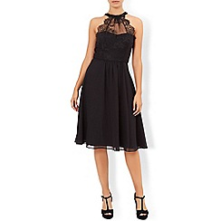 Monsoon - Black Maya dress
